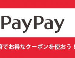 PayPay残高でのお支払いで最大5%戻ってきます!